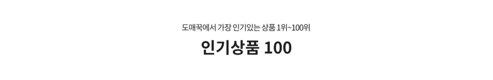 인기상품100