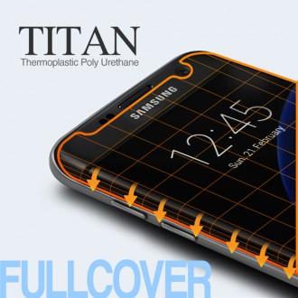 싸다몰♠타이탄 TPU 곡면 풀커버 2매 액정보호필름 엣지 S7 아이폰7