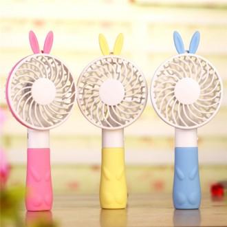 토끼 곰돌이 USB충전방식 강력 휴대용 미니선풍기