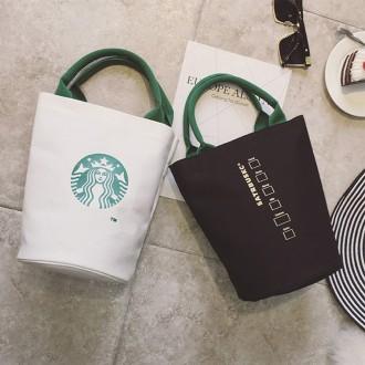 스타벅스 가방 에코백 천가방 숄더백 캔버스백