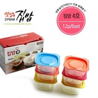 스타 집밥4호 햇밥 6종세트 12p 전자렌인지용기