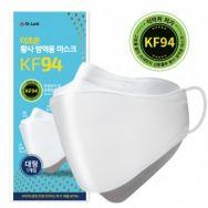 더조은 KF94 황사방역용 마스크/미세먼지 차단/국산