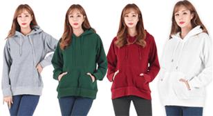 8가지 컬러! 따뜻한 기모 후드티셔츠