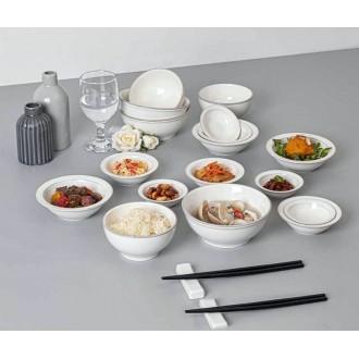그릇 4종세트 공기/대접 찬기 주방용품/돌답례품 접시