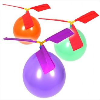 헬기풍선/풍선헬리콥터 바람을 이용해 날아가는 교육
