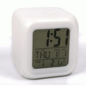 [FN501P] 사각무드 알람 탁상시계 6가지 컬러 취침등