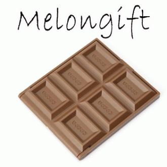 [파우치데이] 초콜릿 거울 /초콜렛/초코렛 [MR009]