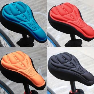 3D 입체 쿠션 자전거 안장 커버 운동 MTB 로드 바이크