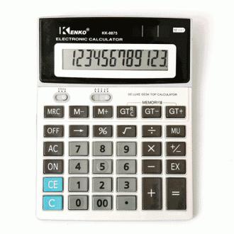 겐코 12자리 계산기/전자계산기/다양한기능/큰사이즈/