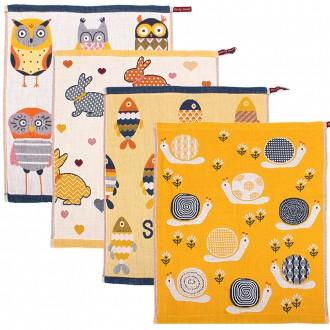 [한원산업] 보호대4종세트 무릎보호대2P+손목보호대2P