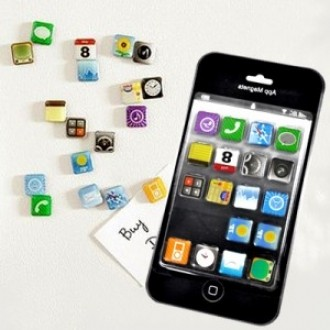 아이폰 소프트웨어 패션자석.자석.아이폰.휴대폰용품.