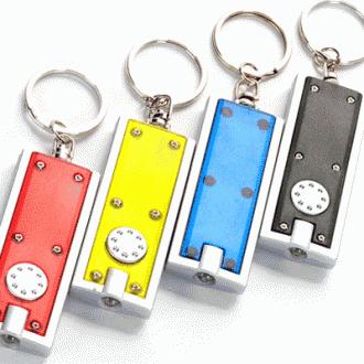 LED열쇠고리 후레쉬 키홀더/다양한색상 5종/라이트/LE