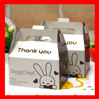 토끼 하트 선물상자 이쁜 포장박스 선물봉지 답례품/