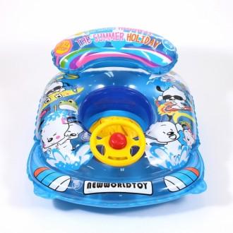 뭉치 보행기 튜브(파랑)(3 5세용)-B/자동차 튜브