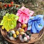 (신규)떡바구니와 배색꽃망울연꽃보자기