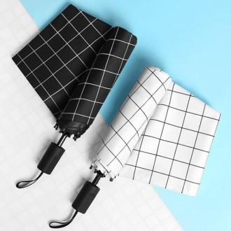 체크3단 암막우산 양산겸용 장우산 양산 3단우산 아동