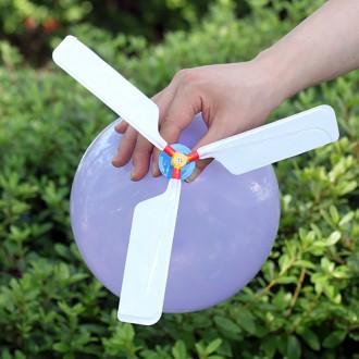 붕붕 헬리콥터 풍선(13.5cm×3.8cm)/완구류 학습교구