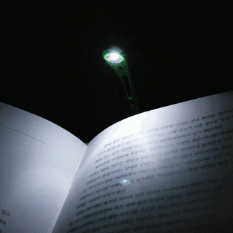1구 LED 클립 북 라이트(14cm×1.5cm)