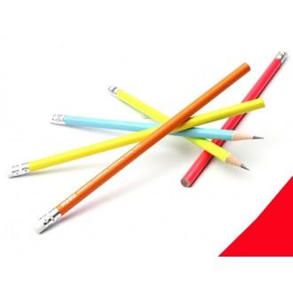 무지개연필.지우개달린연필.지우개연필.연필.펜.sel