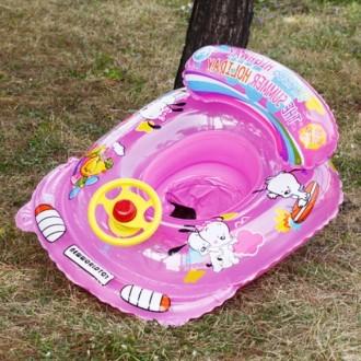 돌고래 보행기 튜브(핑크) (3 5세용)/돌고래 튜브