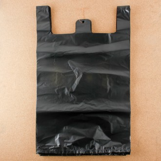 (45) 33x55cm 100p 비닐봉투-검정(4호)/일반시장봉투