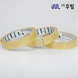 문구투명테이프 16mm 20M 1BOX 150개 포장 투명 테이