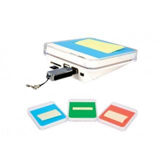 타원형 USB허브 포스트잇 2.0.메모꽂이.메모지.USB.포