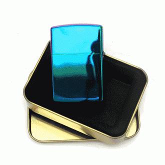 컬러풀 유광 메탈 라이터