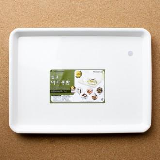 항균 아트 쟁반(2호) (27cm×19.5cm)/주방용품