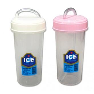 덕신빨대컵300ml-냉장고냉수물컵음료컵물통물병머그컵