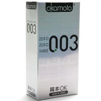 오카모토 0.03 10 P 콘돔
