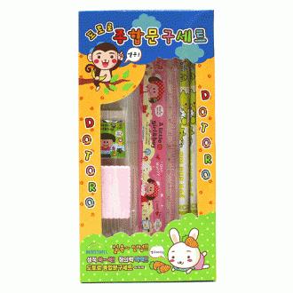 5p 도토로 종합 문구세트(小) (20cm×10cm)