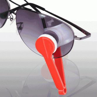 신개념 집게형 안경닦이(7cm×2cm)9g/양면 안경닦이