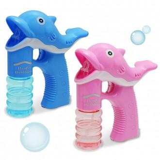 돌고래자동버블건/자동비누방울/버블건/어린이선물