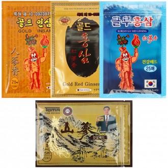 건강패드/인삼패드/홍삼패드/숯패드/골드홍삼/골드인