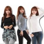 ★스타일도매★ 폴라티/롱폴라티/기본티/지속공급/면스판폴라티