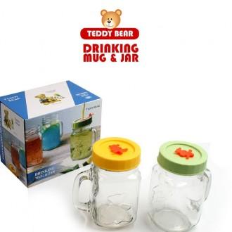 드링킹 머그컵 2세트 러블리 드링크자 캐닝머그 물컵