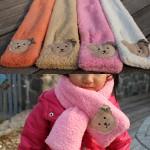 캔디몰 겨울신상 유아 아동 곰돌이 목도리 머플러 목