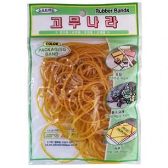 [도매포유]고무밴드(고무나라)-봉지