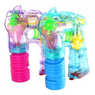 LED투명 자동버블건 비눗방울놀이 비누방울총 어린이
