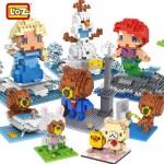LOZ정품취급/140여종/각종캐릭터/디폼블럭/어린이날선물사은품