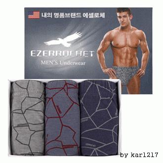에셀로체3100/남성삼각팬티/남성패션팬티