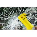 [마이도매]P40001A 다기능경광등/경광봉/안전띠절단/차량비상용품
