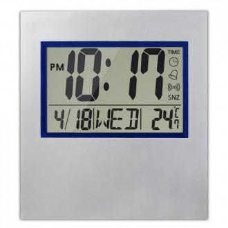 BIG LCD 달력 온도 벽걸이 접이식 탁상시계 ENKO