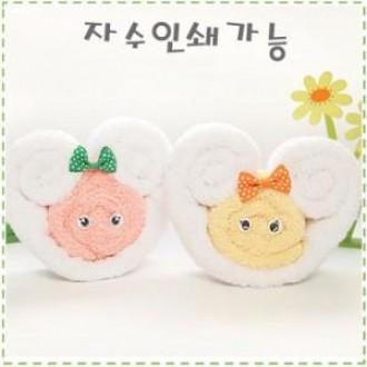 MC 초극세사타올 깜찍이양 (자수인쇄) 돌잔치용품 미