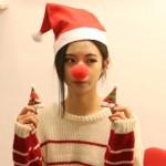 루돌프 빨간코/빨간코/크리스마스 소품/산타복 성가대