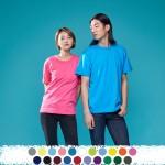 [티티뱅크/단체복 전문]20수/30수 라운드 반팔(아동/