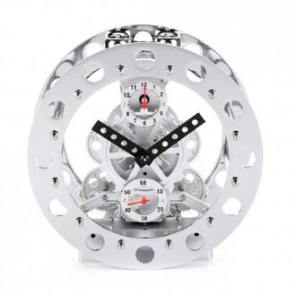 클래식 디자인 인테리어소품 메카닉 기어 알람시계