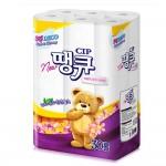 더존땡큐 3겹/30롤 화장지/롤휴지/티슈/부드럽고 도톰
