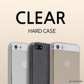하나텍]클리어투명하드케이스/노트8/A530 휴대폰케이
